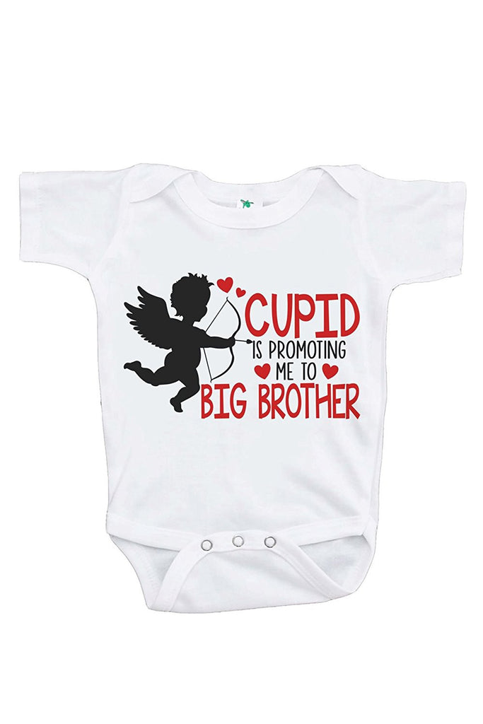 7 ate 9 Apparel Boy's Big Brother To Be Valentine's Onepiece