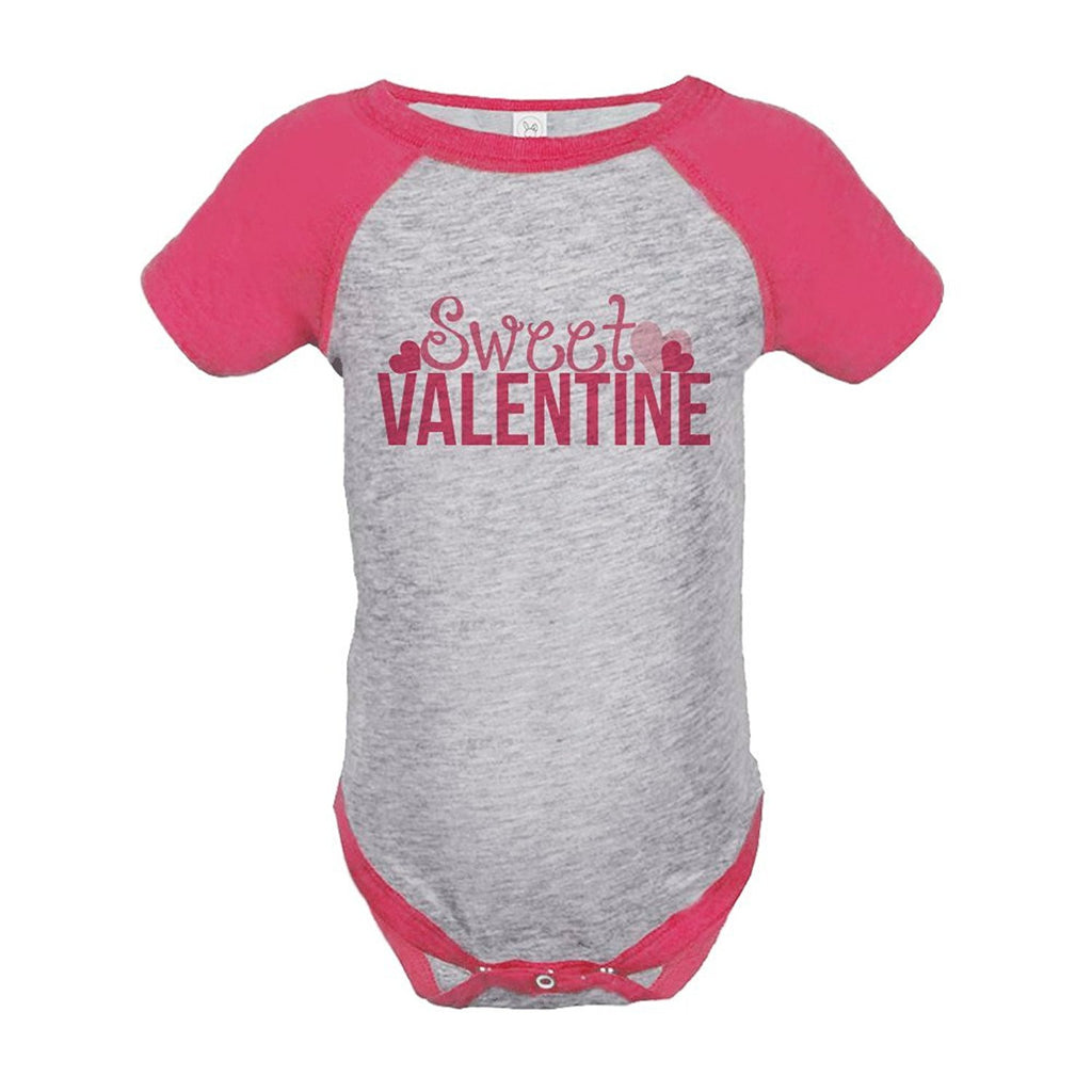 7 ate 9 Apparel Baby Girl's Sweet Valentine Onepiece