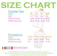 Ladies I Have Arrived - Sizing guide