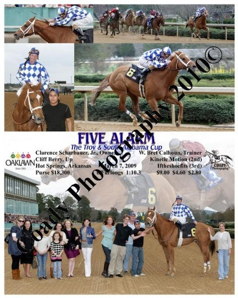 FIVE ALARM  -  The Troy & South Alabama Cup  -  3