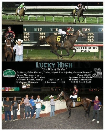 LUCKY HIGH - 071212 - Race 07