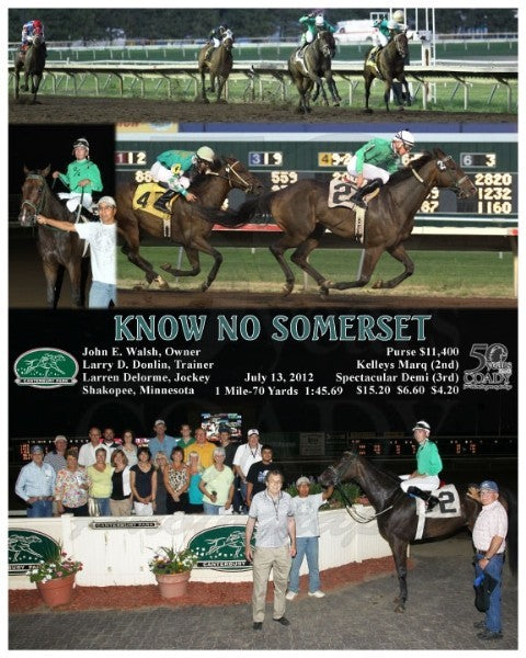 KNOW NO SOMERSET - 071312 - Race 05