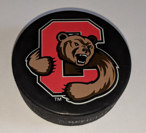 Image of Cornell Men's Hockey Game Puck - From Union Playoff Series Mar 2019