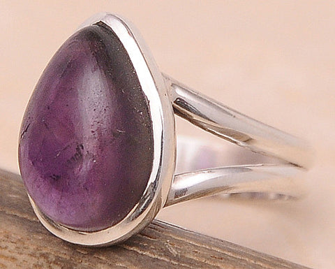 Amethyst .925 Sterling Silver Jewelry Ring Size 6
