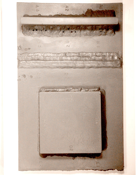 WSD-1:  Weld Sample Defect Plate