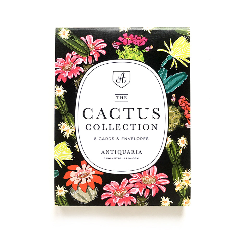Cactus Collection (Box Set of 8)