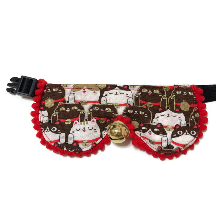 Fortune Cat Brown Princess Collar