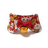 Fortune Cat Princess Collar Red