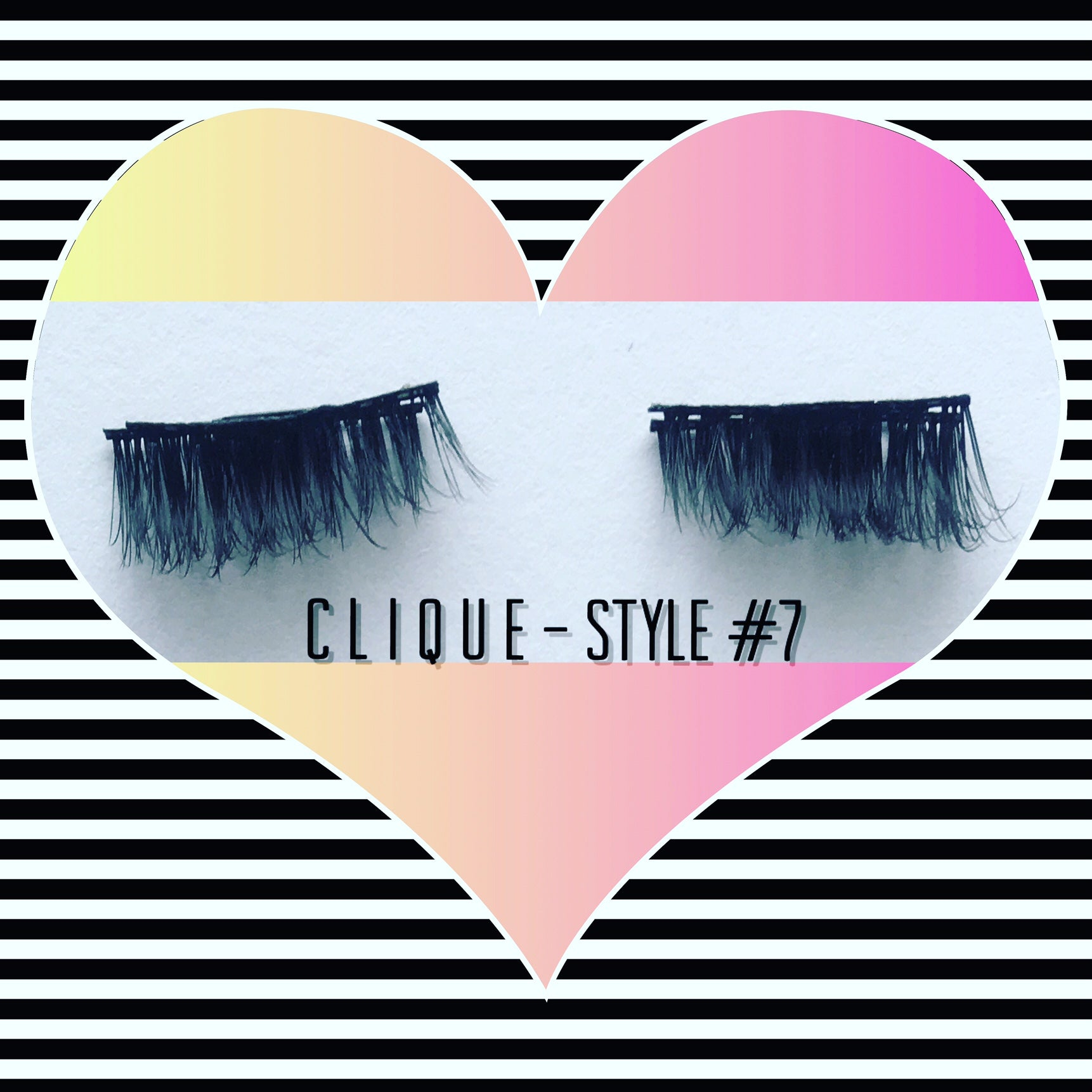 "A: a: Clique ""Magnetic"" Lashes Style #7 (Limited Stock)"