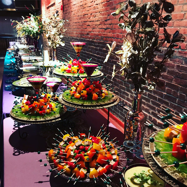 Wedding Food Buffet Menus: Wedding Reception
