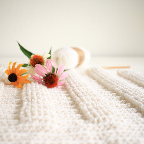 Crochet Pattern - Berry Hedge Baby Blanket P127