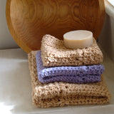 Crochet Pattern - Rivers Edge Dishcloth and Hand Towel P116