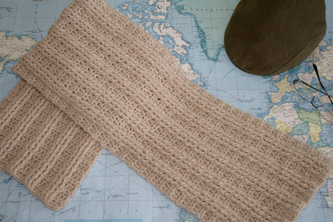 Crochet Pattern - Sugar Maple Scarf P144