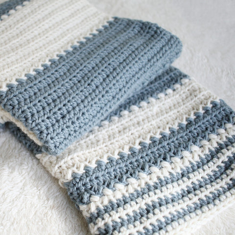 Crochet Pattern - Spring Charms Baby Blanket