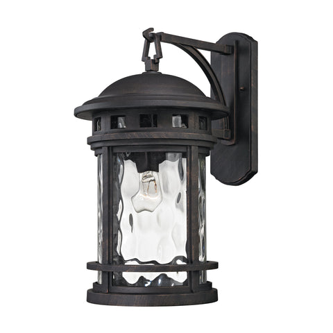 Costa Mesa 1 Light Outdoor Wall Sconce In Weathered Charcoal