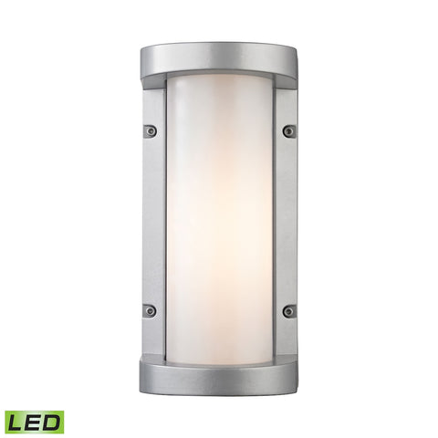 Colby 1 Light Outdoor Sconce In Matte Silver