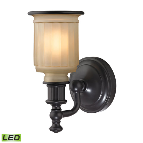 Acadia 1 Light LED Vanity In Oil Rubbed Bronze
