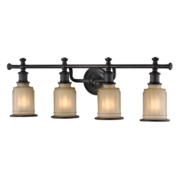 Acadia 4 Light Vanity In Oil Rubbed Bronze