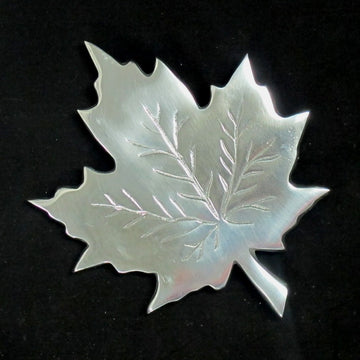 Trivet Maple Leaf 8x8