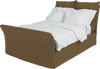 Safari  Linen Song Double Bed Additional Cover