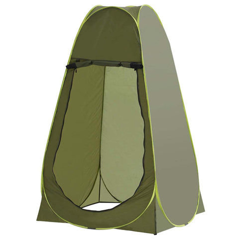 SOGA Pop Up Camping Shower Tent Green