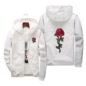 FitCapri Embroidered Sonata Windbreaker