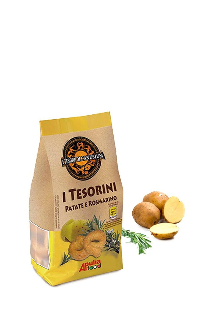 Italian Taralli with Potato & Rosemary 225g