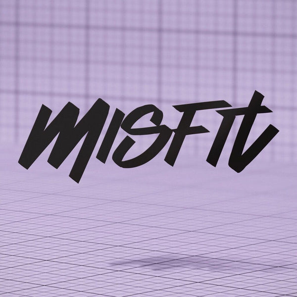 Misfit Tag Decal