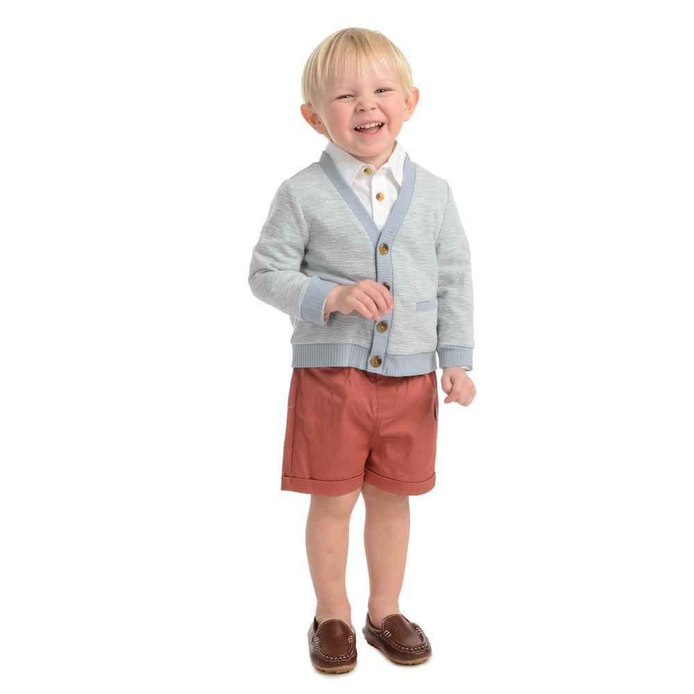 Outfit - Little Brother Bryan Cardigan Short Set