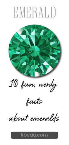 faceted emerald 10 nerdy facts about emeralds from kbeau jewelry
