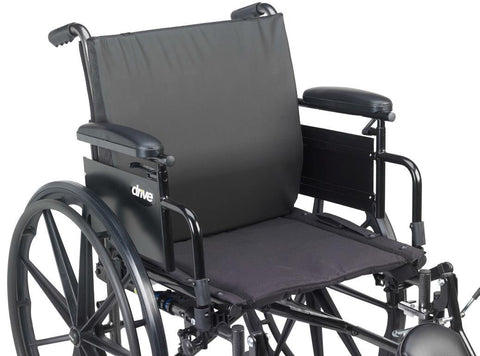 Drive Medical Extreme Comfort General Use Wheelchair Back Cushion with Lumbar Support