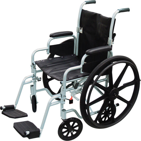 Drive Medical Poly-Fly High Strength, Lightweight Wheelchair