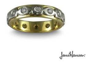 Reconstruction of client's lost 50 year old engagement ring   - Jens Hansen