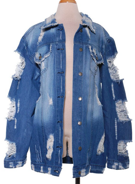 iSlay Denim Jacket - NULABoutique
