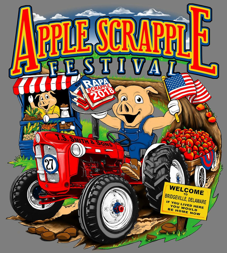 Tip Tough will be at the Apple Scrapple Festival