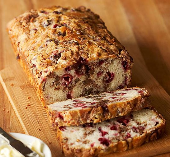 Favorite Holiday Recipes - Cranberry Fruit Nut Bread