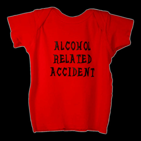 Babysitter's Nightmare - Alcohol Related Accident Lap Tee (Red)