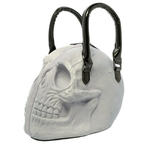 Kreepsville 666 - Skull Collection Handbag Natural Glow