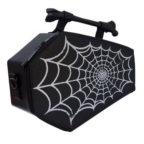 Kreepsville 666 - Spiderweb Foil Coffin Bag