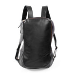 Brooklyn Leather Backpack-Black