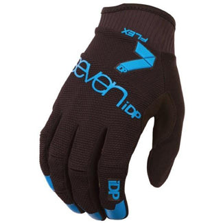 7IDP FLEX GLOVE BLACK ELECTRIC BLUE SIZE L