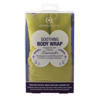 Lime Soothing Microwaveable Body Wrap