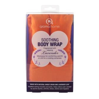 Orange Soothing Microwaveable Body Wrap