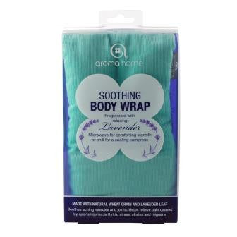 Turquoise Soothing Microwaveable Body Wrap - Presentation Pack