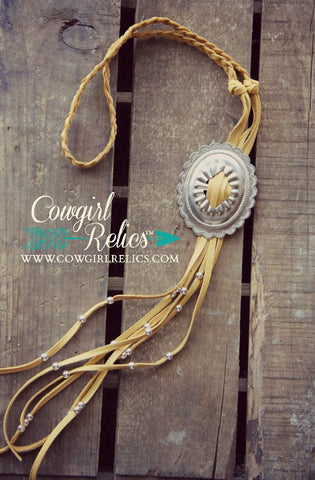 Appaloosa Fringe Bolo-Style Necklace - Cowgirl Relics