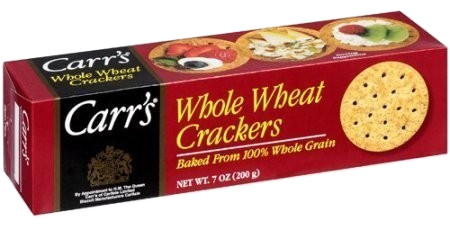 Carrs Table Water Crackers Whole Wheat