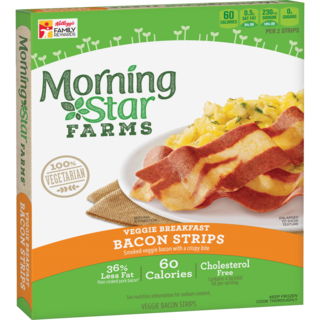 Morning Star Farms Veggie Breakfast Bacon Strips
