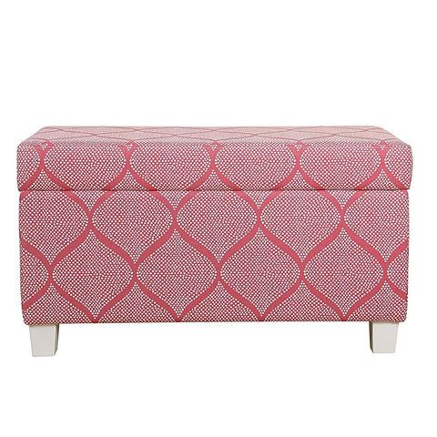 Laci Pink Dot Non-Woven Fabric Storage Set of 3