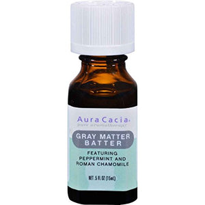"""Gray Matter Batter"" Essential Oil Solutions Blend 0.5 oz - All Therapeutic"