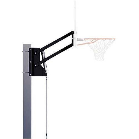 Acrylic Backboard 54 inch with 3 ft Offset Mounting Bracket Height Adjustable FREE SHIPPING